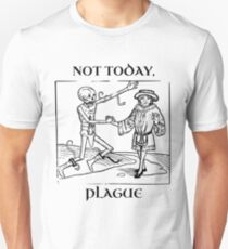 Not Today, Plague Slim Fit T-Shirt