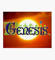 Genesis. Photographic Print