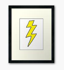 Lightning Bolt - Scott pilgrim vs The World Framed Print