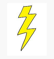 Lightning Bolt - Scott pilgrim vs The World Photographic Print