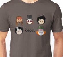 Depp. (Johnny Depp characters) Unisex T-Shirt