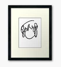 Ramona Flowers Black - Scott Pilgrim vs The World Framed Print
