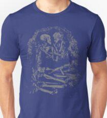 Eternal Embrace Grey Unisex T-Shirt
