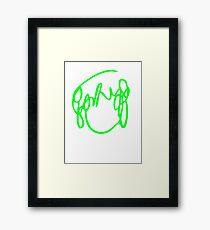 Ramona Flowers Green - Scott Pilgrim vs The World Framed Print