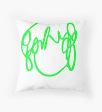 Ramona Flowers Green - Scott Pilgrim vs The World Throw Pillow