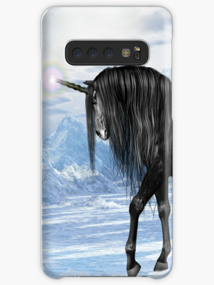LACK Cartoon Unicorn Horse Phone Cases