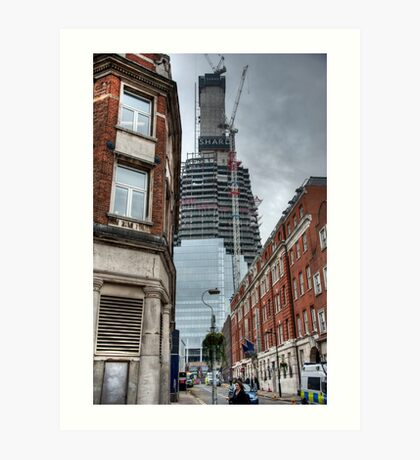 The Shaping of the Shard Art Print