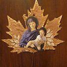 Madonna on Leaf #1 by MegJay