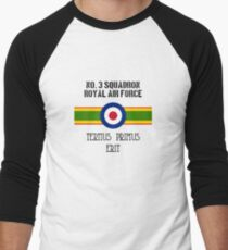 No. 3 Squadron - RAF Men's Baseball ¾ T-Shirt