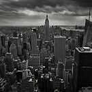 New York Cityscape BW by Xpresso
