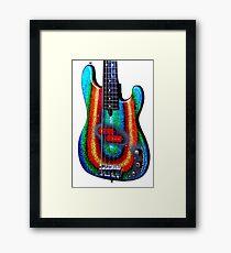 Kirk Powers - Custom Alleva Coppolo kbp5 Bass Framed Print