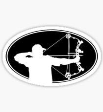 Bow Hunter Sticker Sticker