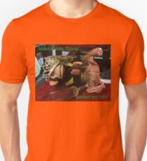 Musical Jolly Chimp Partied Too Hard Unisex T-Shirt