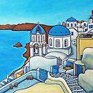 Colours of Santorini by LisaLorenz