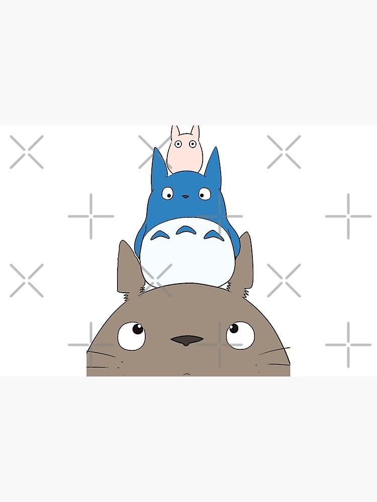 Totoro Family by LaPetiteBelette