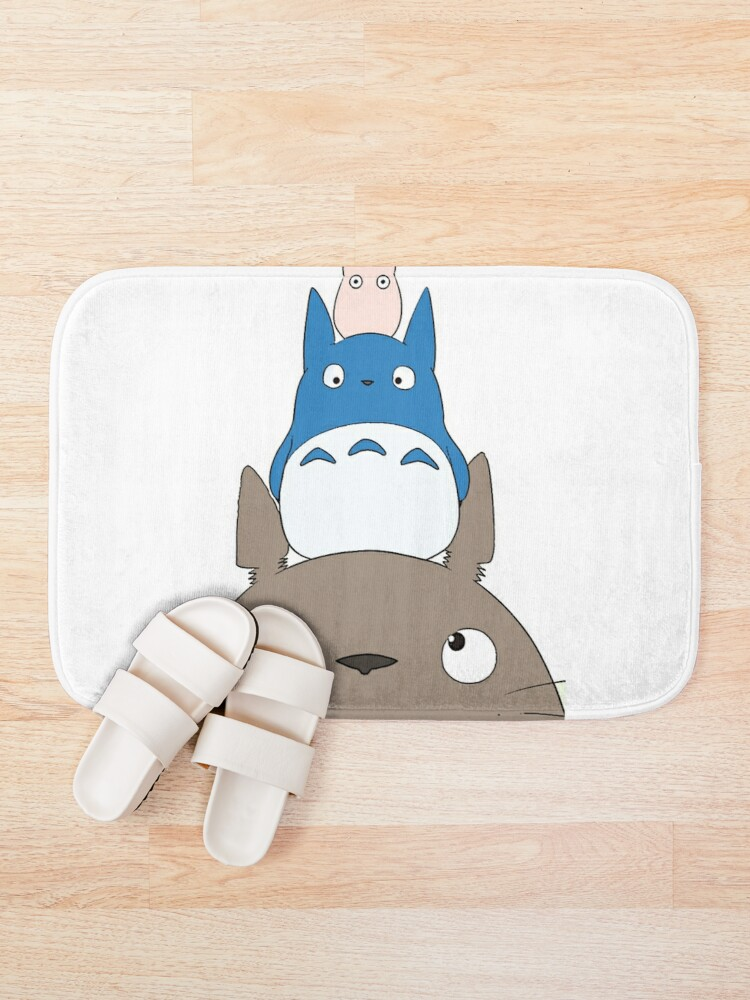 Alternate view of Totoro Family Bath Mat