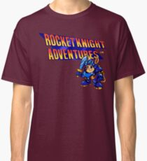 Rocket Knight Adventures (big print) Classic T-Shirt
