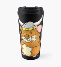 The Mighty Viking Hamster Travel Mug