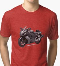 Motorcycle Tri-blend T-Shirt