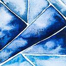 Blue Triangle von Nadine Schnabel