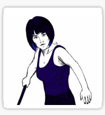 mako mori Sticker