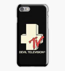 Devil Television iPhone Case/Skin