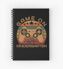Kindergarten Game Spiral Notebooks | Redbubble