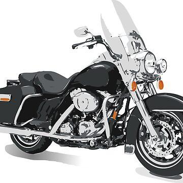 Harley-Davidson Style Bike by Smaragdas