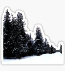 Snowy Trail Sticker