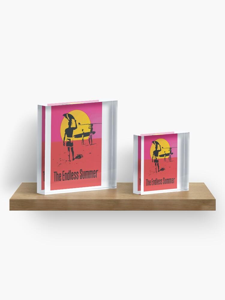 Alternate view of Endless Summer, 1966 Surf Sport Documentary Poster, Artwork, Prints, Posters, Tshirts, Men, Women, Kids Acrylic Block