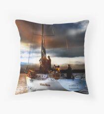 Masts Away Throw Pillow