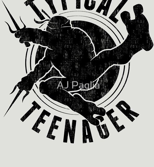 Typical Teenager by AJ Paglia