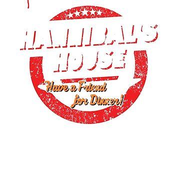 Hannibal's House (white) by heythisisbutt
