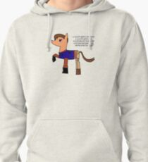 Nathan pony fillion Pullover Hoodie