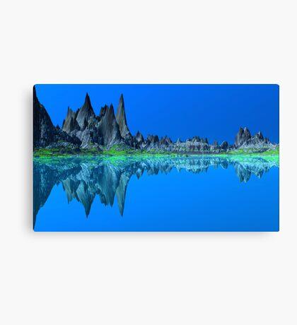 Blue Sea....Blue Sky Canvas Print