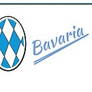 Bavarian Badge...elegant coat of arms by edsimoneit