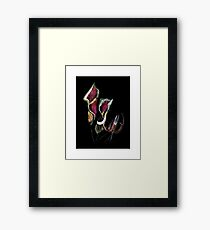 Flora Two Framed Print