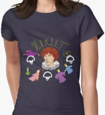 Hamlet - Prince of Denmark Womens Fitted T-Shirt