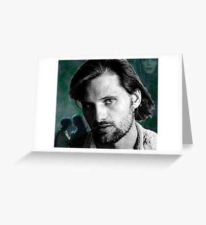 Viggo Mortensen Greeting Card