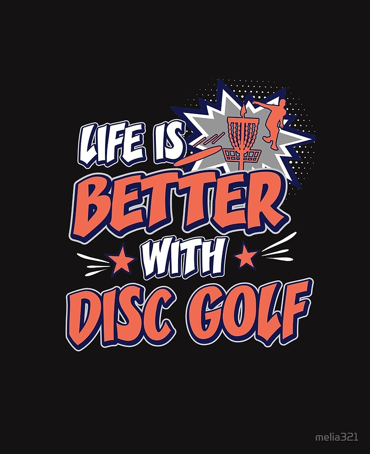 Life Is Better With Disc Golf - Best Cool Funny Disc Golfer Player Team  Quotes Gifts | iPad Case & Skin