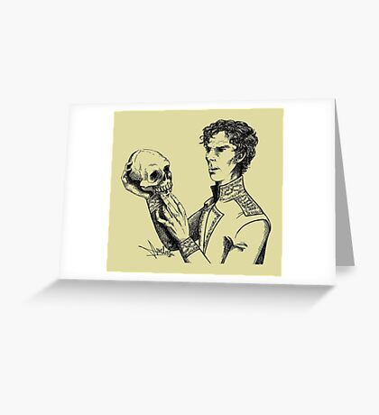 Alas, poor Yorick! Greeting Card