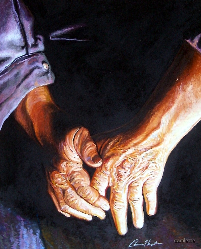 My Father's Hands by Cameron Hampton