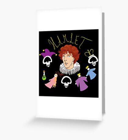 Hamlet - Prince of Denmark Greeting Card