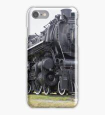 Steam locomotive on display iPhone Case/Skin