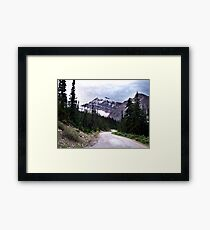 Road to the Mount Framed Print