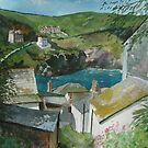 """Down to the Sea"" - Port Isaac, Cornwall by Timothy Smith"