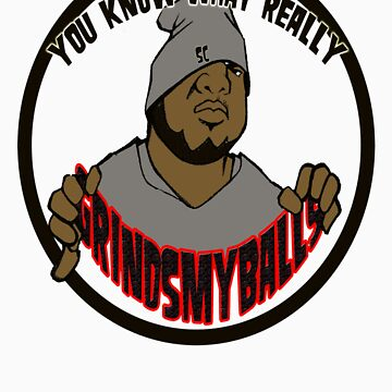 Here it is the New Grinds My Balls Logo by snookchaos