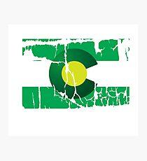 Green Colorado Photographic Print