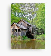 A Day at Mabry Mill Metal Print