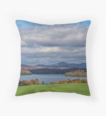 View On Memphrémagog Lake Throw Pillow